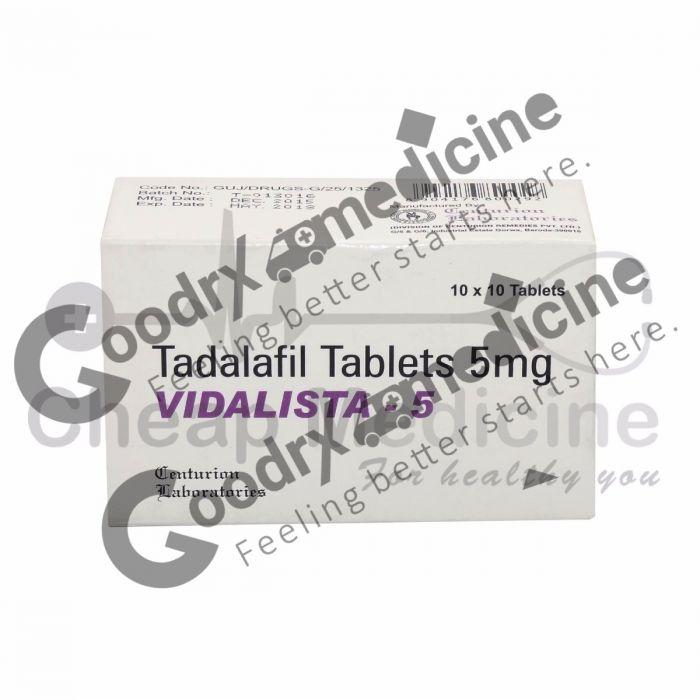 Vidalista 5 mg