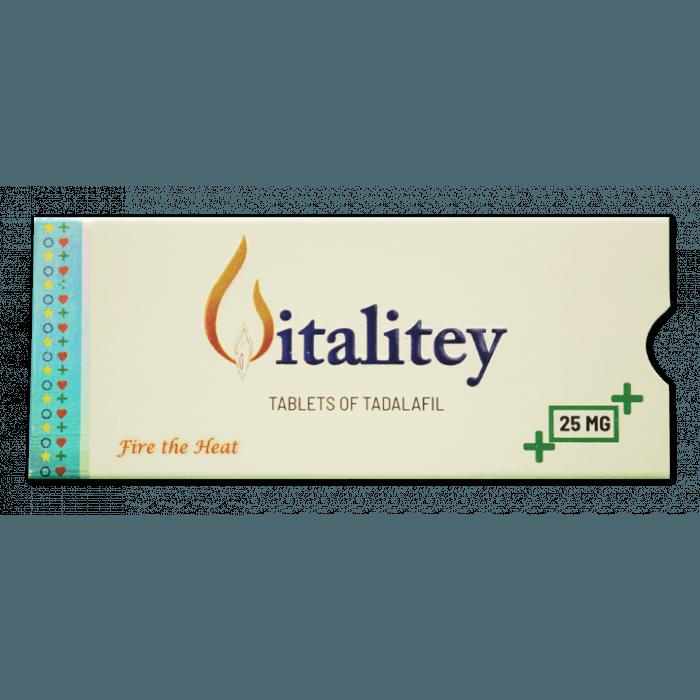 Vitality 25 Mg Tablet (Tadalafil(