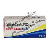 Cephadex 500 mg