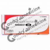 Rosubest 20 mg